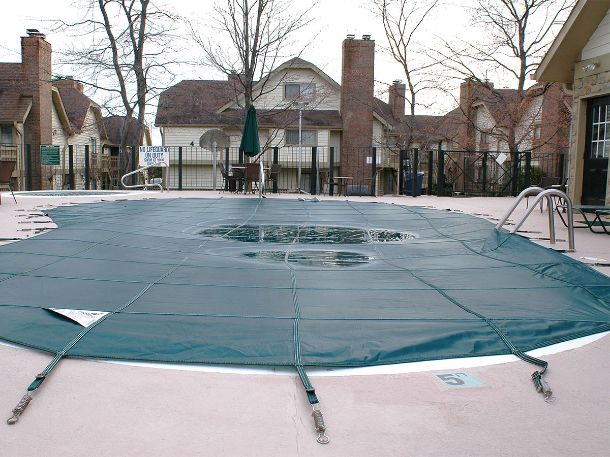 Close the pool for the winter homezada - How to open a swimming pool after winter ...