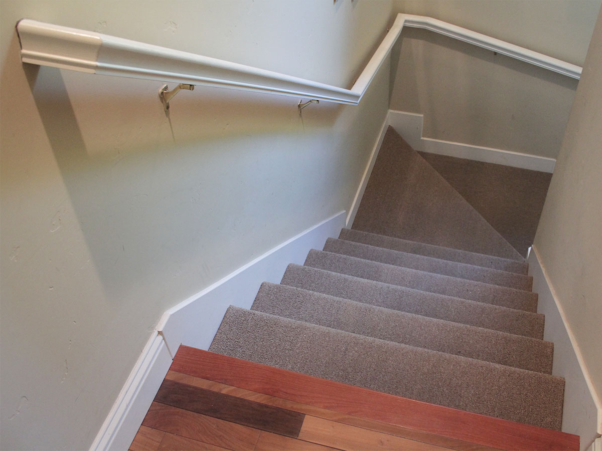 Dust Staircase And Banisters