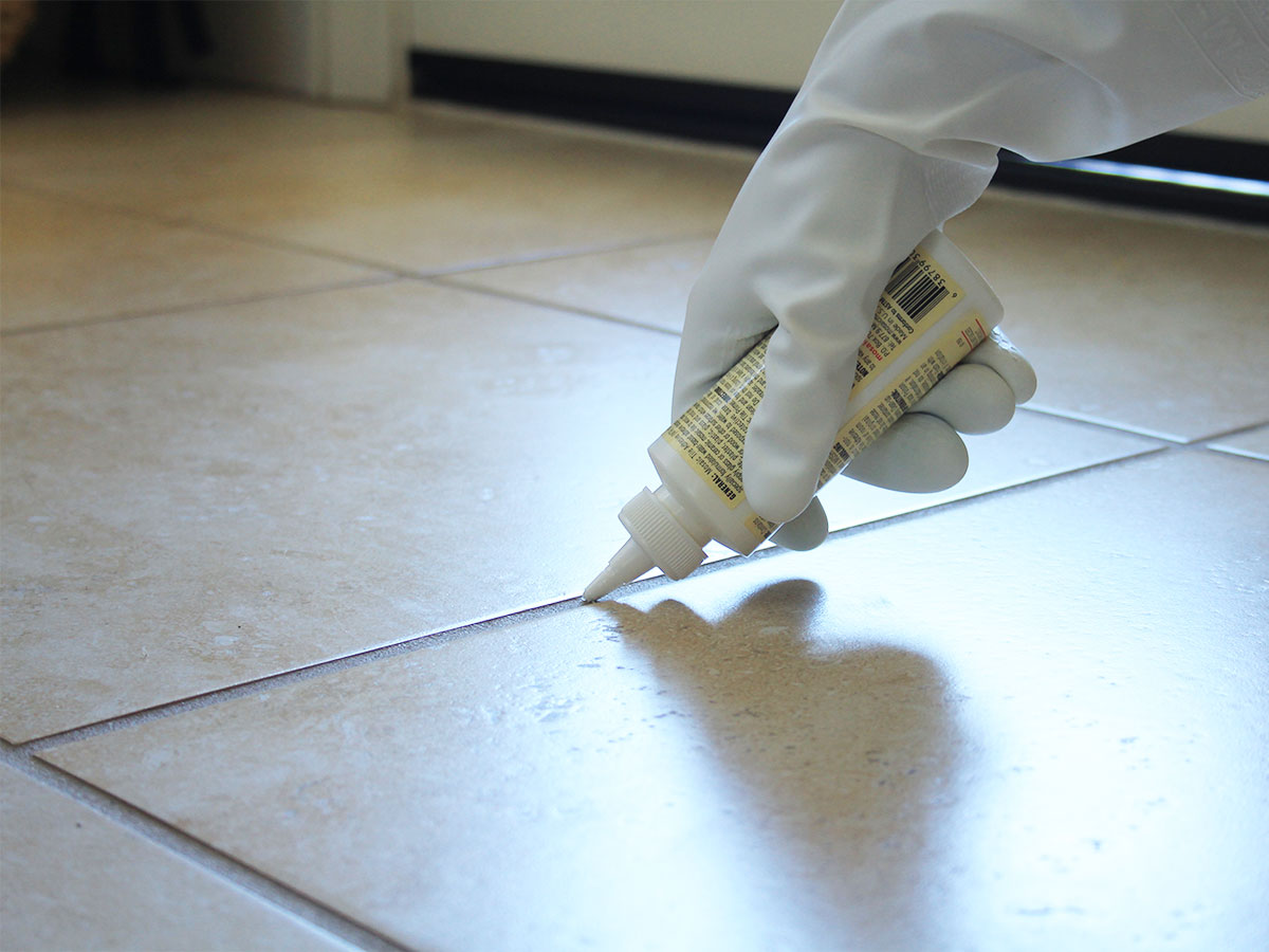 Reseal Grout HomeZada - Clean and reseal grout