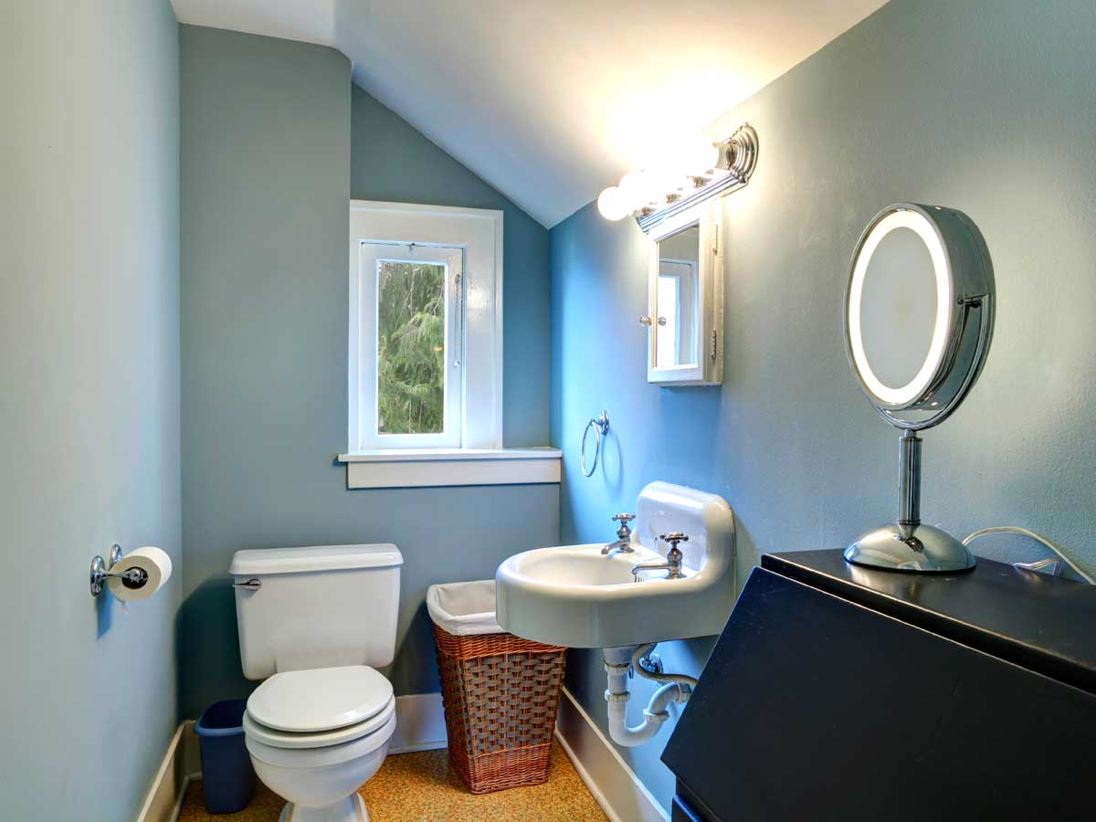 half bathroom remodel project template