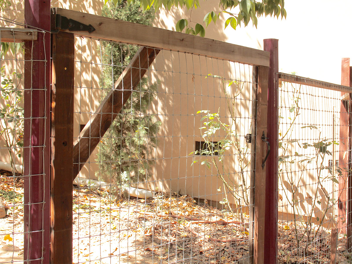 Inspect exterior gates and fences
