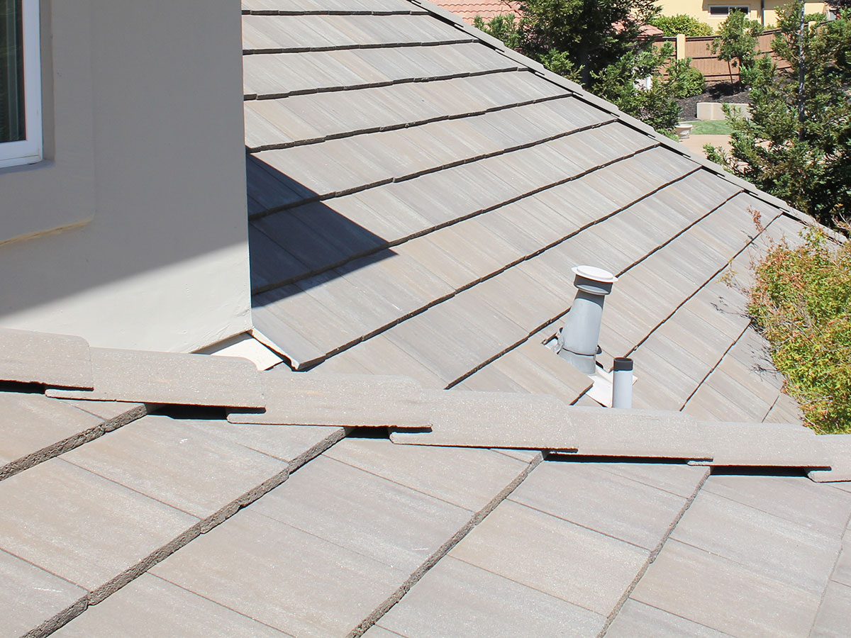 Inspect roof for damage