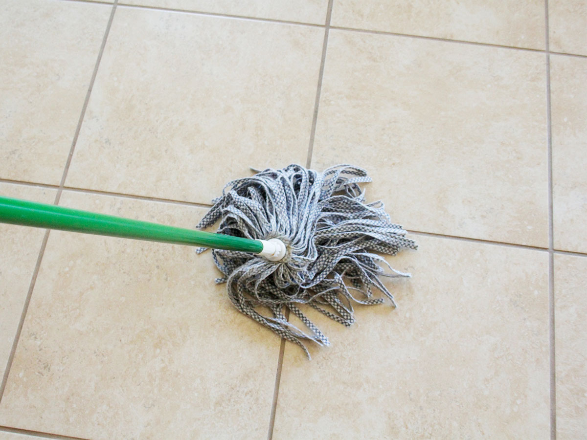 Mop floors