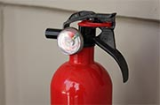 Check fire extinguishers pressure Photo