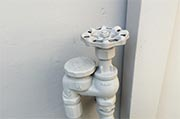 Check water shutoff valves are working  Photo