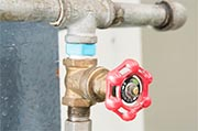 Inspect all water valves Photo