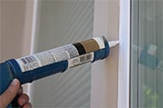 Inspect exterior caulking Photo