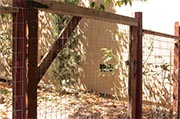 Inspect exterior gates and fences  Photo