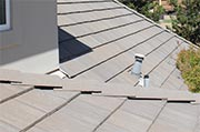 Inspect roof for damage Photo