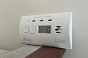 Replace batteries in carbon monoxide detectors Photo