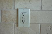 Test ground fault interrupter outlets Photo