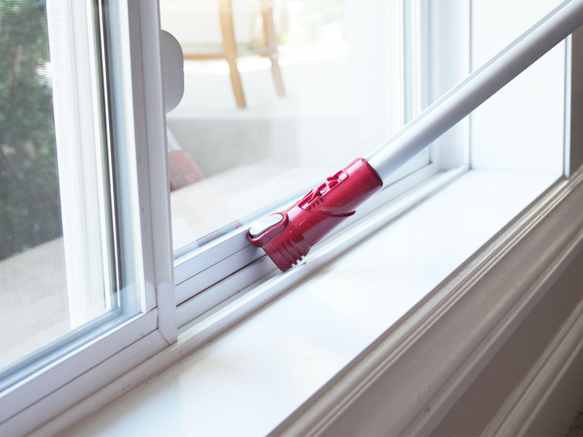 Vacuum window treatments, moldings and windowsills
