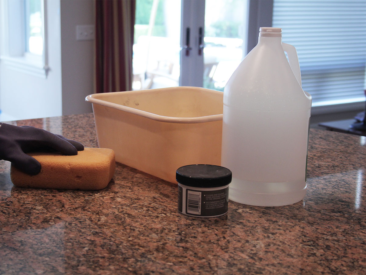 Wipe all kitchen surfaces