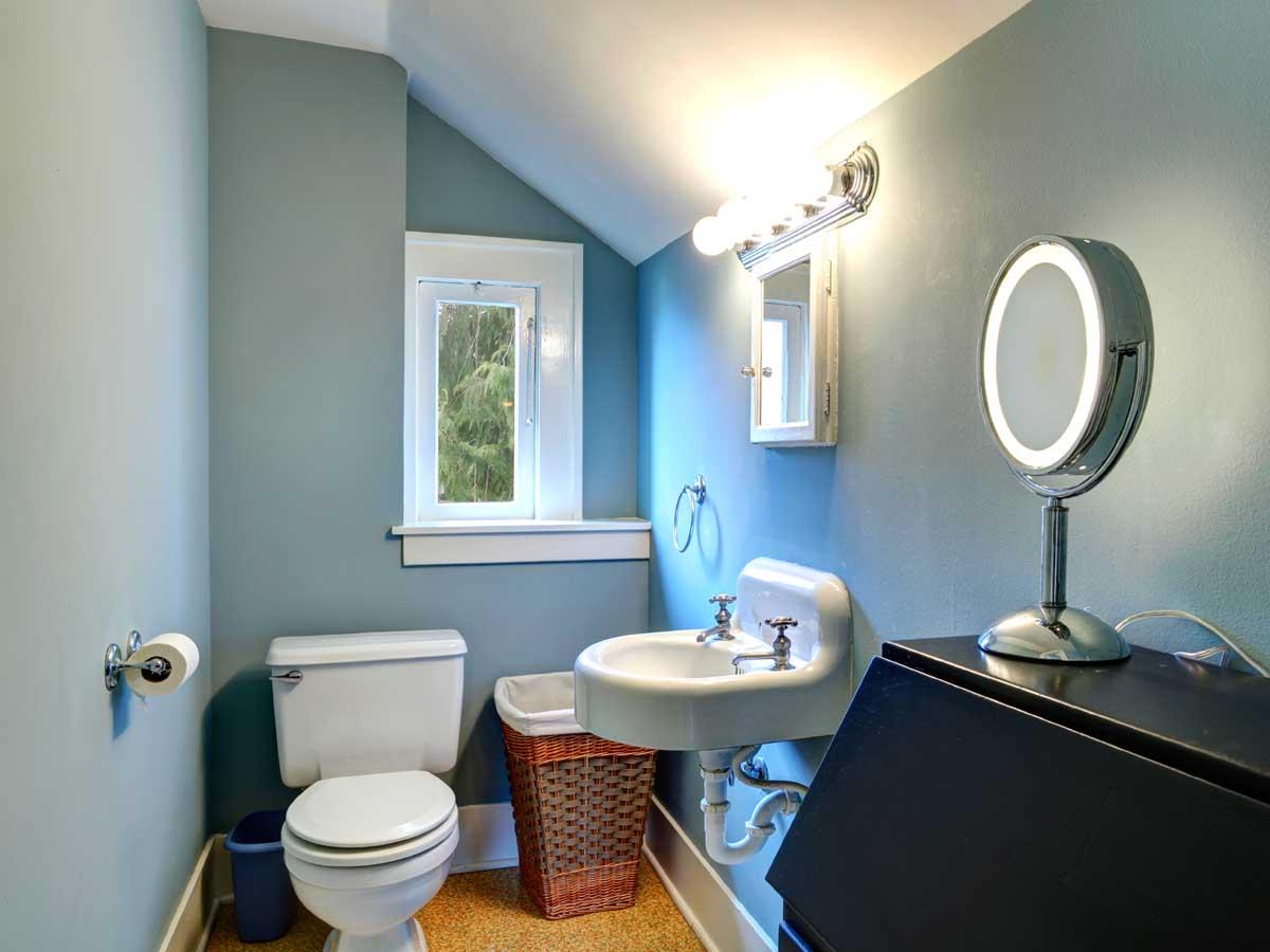 Half bathroom remodel project template homezada - Half bathroom remodel ideas ...